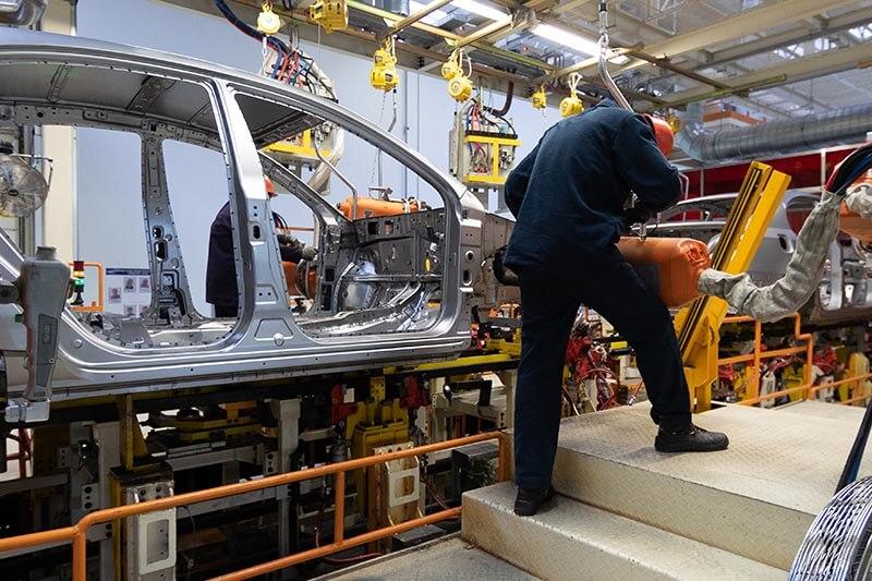 West midlands automotive workers